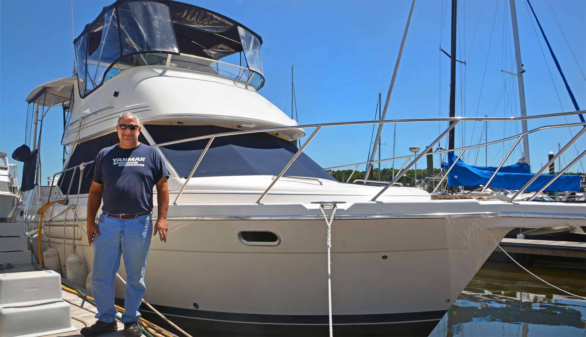 Doh Kohlman, MTTI Marine Service Tech Instructor & Owner/Technician Of Oceanus Marine Group.
