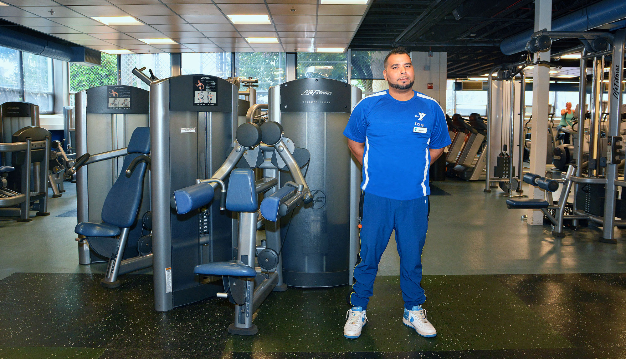 Guillermo Perez is an MTTI Graduate and Fitness Trainer at Cranston Y.