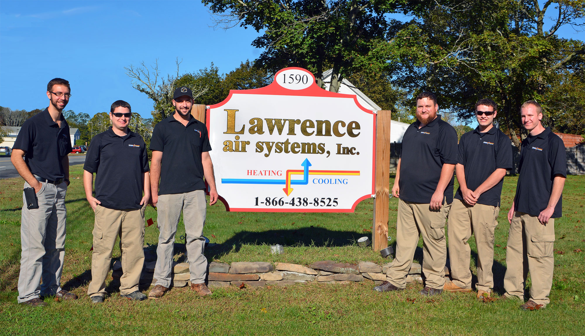 MTTI HVAC Graduates employed at Lawrence Air Systems in Seekonk, MA