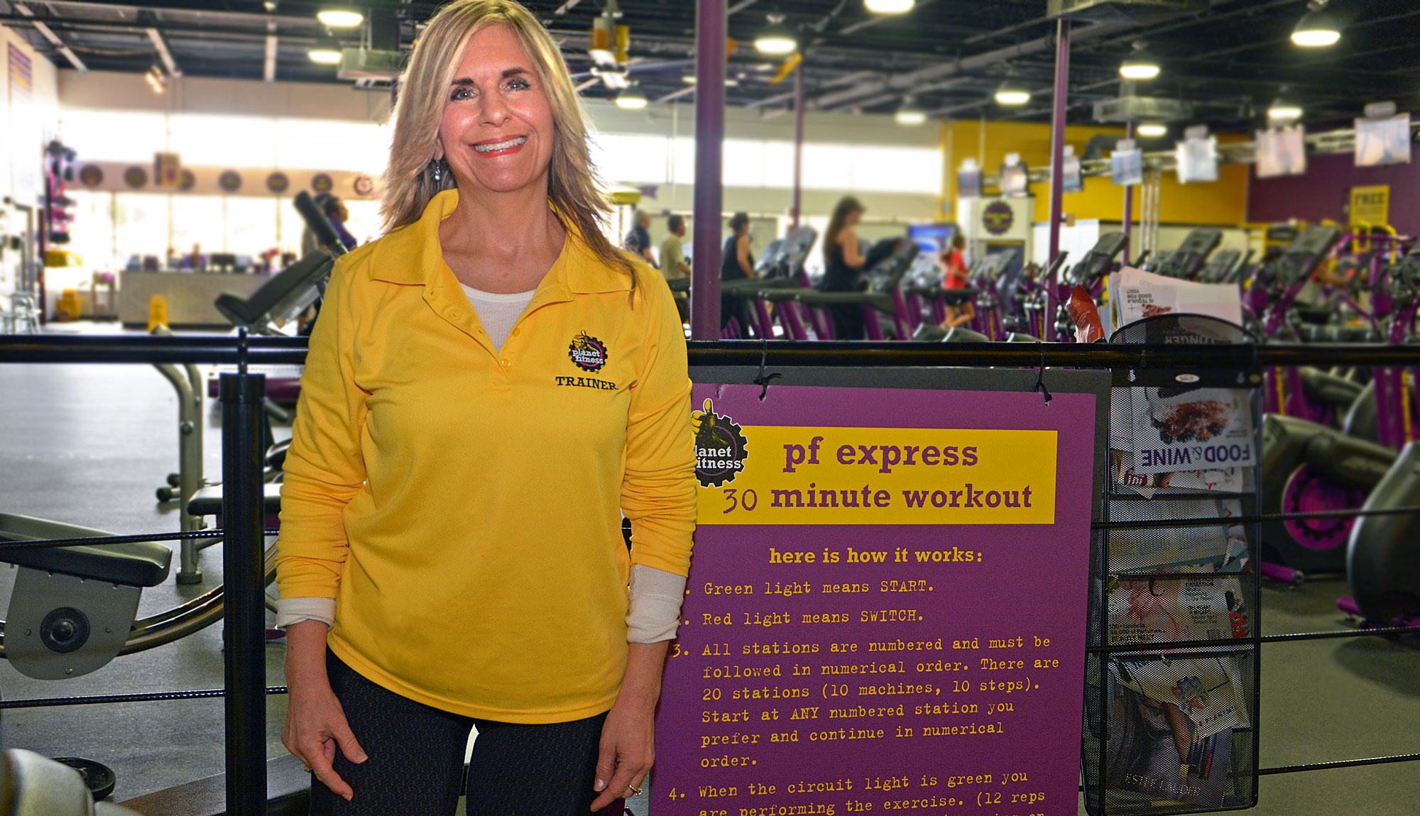 Pamela Padula, MTTI Graduate and Lead Fitness Trainer at Planet Fitness Coventry