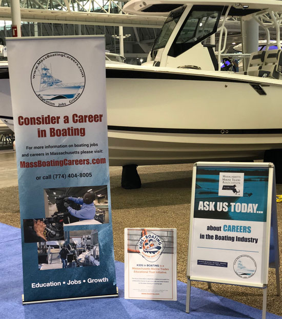 Massachusetts Careers at Boat Show