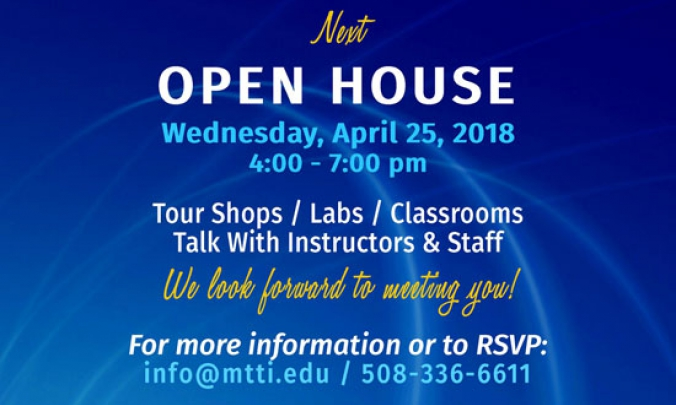 April 25, 2018 Open House at MTTI