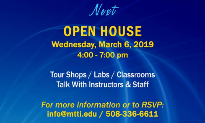January 9, 2019 Open House at MTTI
